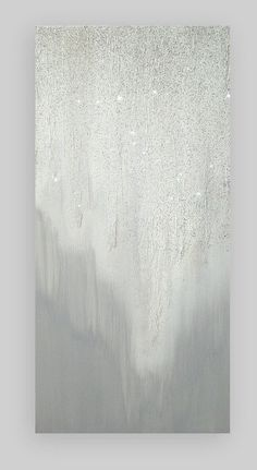 Glitter Art, Acrylic, Abstract, Painting, Modern Original Acrylic Abstract Painting Art Canvas Ora Birenbaum Titled: Twinkle 2 20x40x1.5""