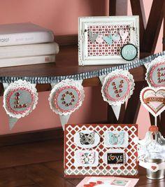 Love Banner by @joannstores | DIY Valentine's Day Decorations