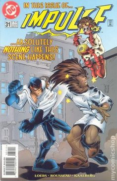Impulse (1995) 31DC Comic Book cover Modern Age