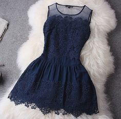 Love this perfect blue drees