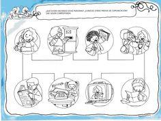 Menta Más Chocolate - RECURSOS y ACTIVIDADES PARA EDUCACIÓN INFANTIL: Actividades: Medios de Comunicación