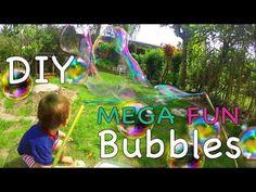 Riesenseifenblasen im Test | Bestes Rezept und beste Konstruktion | mami...