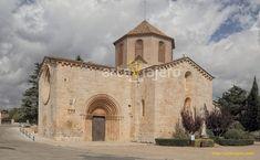Iglesia de Sant Ramon de Penyafort, El Pla de Santa María. Se trata de un magnífico testimonio de arte románico en la provincia de Tarragona, destaca su magnífico rosetón y portada. #arteviajero #románico #tarragona #ElPlaDeSantaMaria