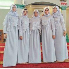 Model Kebaya Muslim, Kebaya Modern Hijab, Kebaya Hijab, Kebaya Dress, Dress Pesta, Hijabi Wedding, Muslim Wedding Dresses, Muslim Dress, Wedding Dress Styles