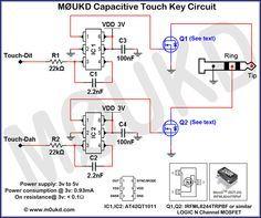 Adjusting morse keys and paddles amateur radio pinterest capacitive cw touch key circuits m0ukd amateur radio station information page asfbconference2016 Choice Image