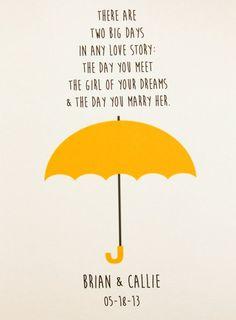 how i met your mother yellow umbrella - Buscar con Google