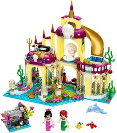 BELA 10436 Princess Mermaid Undersea Palace Girl Friends Building Bricks Compatible with Lego Toys For Children Birthday Gift Model Building Kits, Building Blocks Toys, Lego Blocks, Model Kits, Lego Friends, Friends Hot, Legos, Toys For Girls, Kids Toys