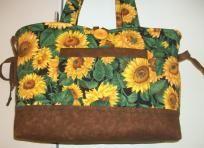 Beautiful Sunflower Field Bow Tuck Purse $34.99