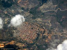 Así se ve Zapatoca desde el aire. Gracias @jforerog por la foto #somossantandereanos