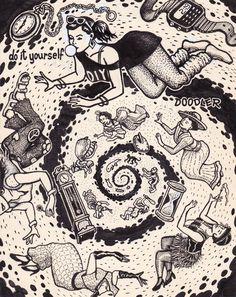 Doodle Pad art by David Jablow | Test