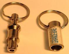 Vintage Promo Keychain USINE GRANDE BAIE QC Ancien Porte-Clés USINE GRANDE-BAIE