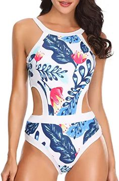 Amazon.com : teen swimsuits for teenagers girls one piece One Piece Bikini, Women's One Piece Swimsuits, Women Swimsuits, Thing 1, Monokini Swimsuits, Bikinis, One Piece For Women, Swimwear Fashion, 1 Piece