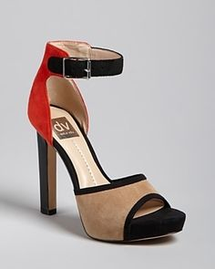 DV Dolce Vita Peep Toe Platform Ankle...     $89.00