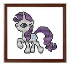 cross stitch The Mane Six: My Little Pony .pdf by pickleladyfarm