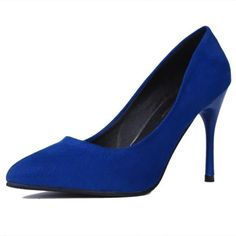 Find More Women's Pumps Information about 2015 autumn new women's nubuck leather pointed toe high heels brand design fashion stiletto heel pumps work dress shoes,High Quality Women's Pumps from Toptrade Co.,ltd on Aliexpress.com
