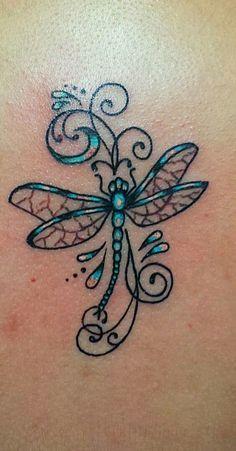 Dragon flies 1 My Body Tatoo Dream Art Tattoos, Dragonfly new tattoo design - Tattoos And Body Art Mom Tattoos, Body Art Tattoos, Small Tattoos, Tattoos For Women, Tatoos, Irish Tattoos, Ribbon Tattoos, Pretty Tattoos, Beautiful Tattoos