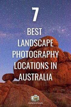 In this landscape location guide you'll find 7 great locations for taking landscapes in Australia! Find all the best spots down under.