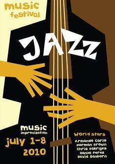 Resultado de imagem para jazz poster