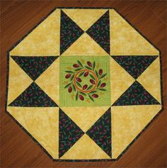Want a super quick project for the weekend? Octagon Star Table Topper Pattern SMS-101 (instant download). http://quiltwoman.com/Octagon-Star-Table-Topper-Pattern-Downloadable.aspx#