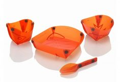 Ultra light collapsible dishes for backpacking/camping
