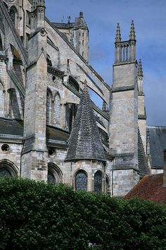 Bourges Cathedral - Chevet Flying Buttresses