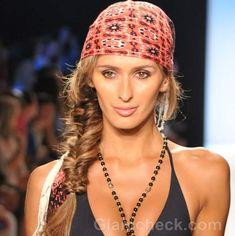 Beach Hairstyles & Hair Accessories S/S 2012 (Printed Bandana)