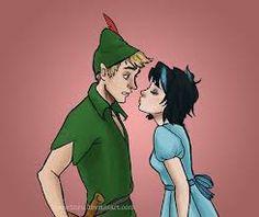 Thalia Grace and Luke Castellan as Peter Pan and Wendy
