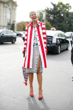 Elisa Nalin at Paris #pfw #paris #streetstyle