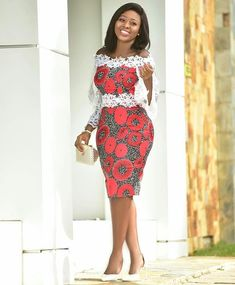 30 Styles April 2019 - African fashion and lifestyles Short African Dresses, Ankara Short Gown Styles, Lace Dress Styles, Short Gowns, African Print Dresses, Short Styles, Ankara Gowns, Latest Styles, African Fashion Ankara