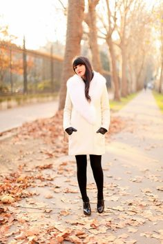 Tara Jarmon White Coat 02