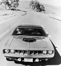 '71 Hemi Cuda #plymouth #muscle #Car