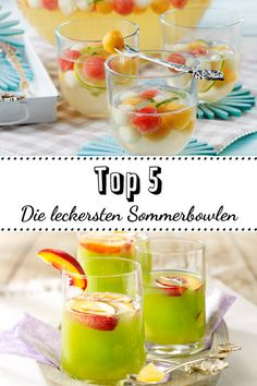 Top 5 summer bowls for a sparkling refreshment - Drinks for Kids Shot Recipes, Fruit Recipes, Smoothie Recipes, Ginger Shot, Ginger And Honey, Healthy Drinks For Kids, Healthy Dinner Recipes, Ketogenic Diet For Beginners, Top 5