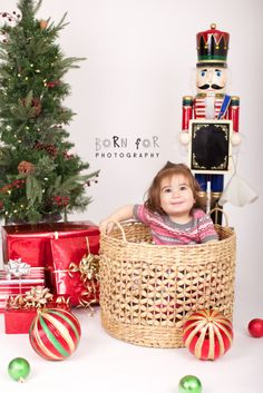 Born For Photography. Toddler Christmas Photography
