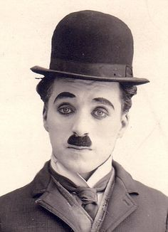 I adore Charles Chaplin