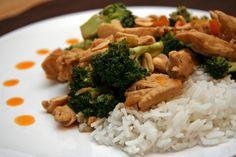 Thai Peanut Chicken. Easy and Pleasing!