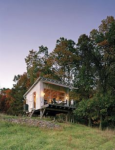 cabin by broadhurst architects, west virginia
