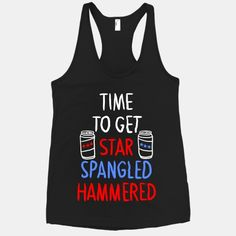 TIME TO GET STAR SPANGLED HAMMERED ( RED, WHITE, BLUE) | HUMAN