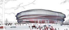 New Norwegian National Stadium - Fenwick Iribarren Architects _ Oslo, Norway