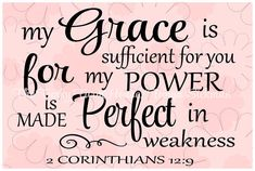 SVG DXF & PNG My grace is sufficient for you by MyFunkyFarmHouse