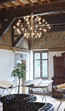 Flos - Gino Sarfatti's chandelier