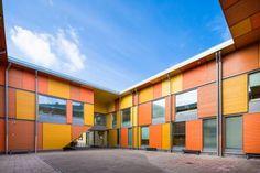 Mansikkamäen koulu | Woodarchitecture.fi Wooden Architecture, Multi Story Building