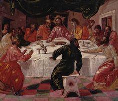 El Greco. the Last Supper