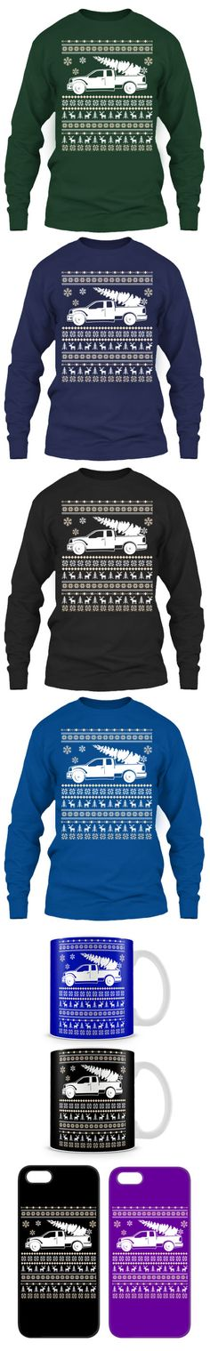 Ford Truck Ugly Christmas Sweater! Click The Image To Buy It Now or Tag Someone You Want To Buy This For.