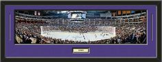 NHL - Los Angeles Kings- Staples Center Framed Panoramic With Team Color Double Matting & Name plaque Art and More, Davenport, IA http://www.amazon.com/dp/B00HG79N9Y/ref=cm_sw_r_pi_dp_.B8Eub0VV0JCE
