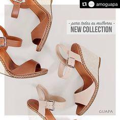 paralelascalcadosO que toda mulher deseja! ❤️ #Repost @amoguapa with @repostapp ・・・ Elas fazem a diferença sim: nossas anabelas são femininas, confortáveis e estilosas! 🌺❤️ #paratodasasmulheres #anabela #casualchic #shoes #estilo