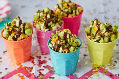 Recipe: Matcha and Dark Chocolate Popcorn with Sea Salt — Recipes from The Kitchn