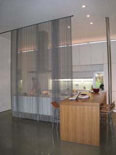 Modern Spaces Hanging Room Divider Screen Design, Pictures, Remodel, Decor and Ideas - page 7