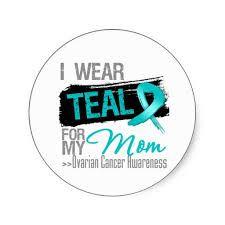 ovarian cancer awareness ~V~ #TopToBottom #WearTeal #Belabumbum