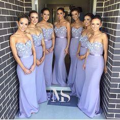 Stunning bridesmaids