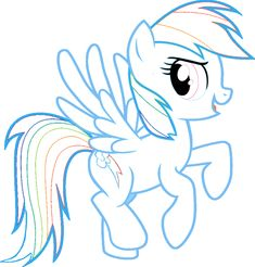 rainbow dash My Little Pony Coloring Pages | FUN & LEARN : Free worksheets for kid: Rainbow Dash Coloring Pages, My ...